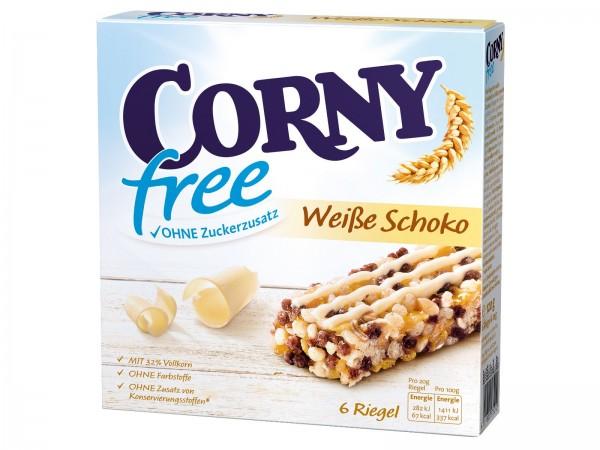 K6115 Corny free Schoko weiss 6 x 25g