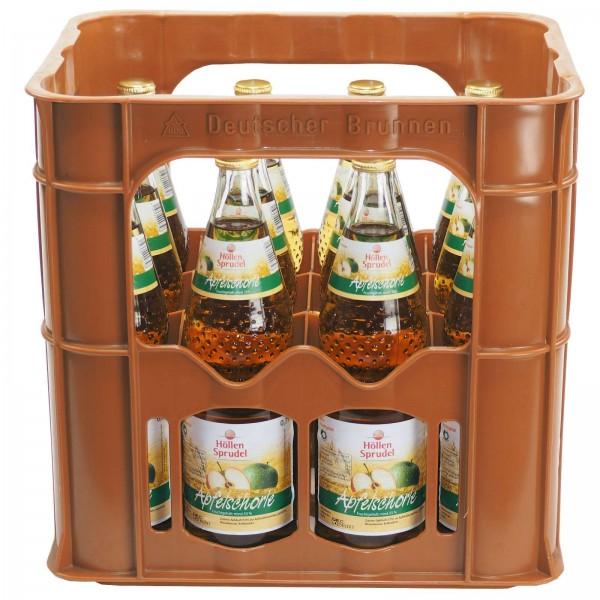 E3239 Höllen Sprudel Apfelschorle 12 x 0,70l Glas