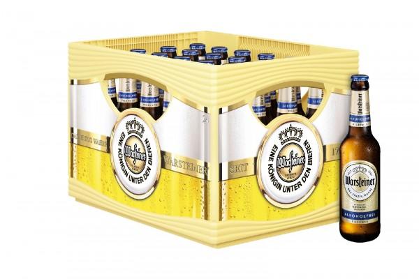 B1372 Warsteiner Alkoholfrei 24 x 0,33l