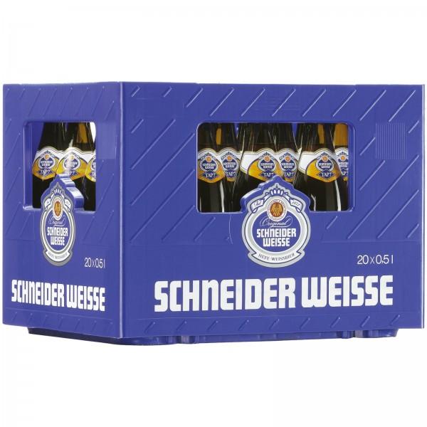 B1409 Schneider Weisse Original (dkl) TAP7  20x0,50l