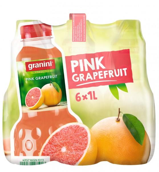 S2510 Granini Pink-Grapefruit 6 x 1,0l