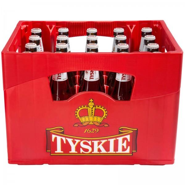 B1257 Tyskie Premium Pils 20 x 0,50l