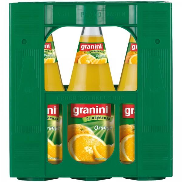 S2438 Granini Orangensaft 6 x 1,0l