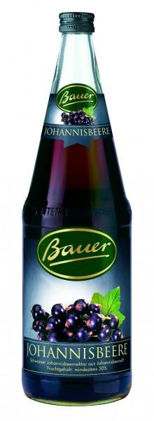 Bauer schw. Johannisbeere 1,0l