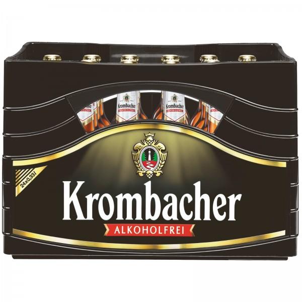 B1364 Krombacher Alkoholfrei 24 x 0,33l
