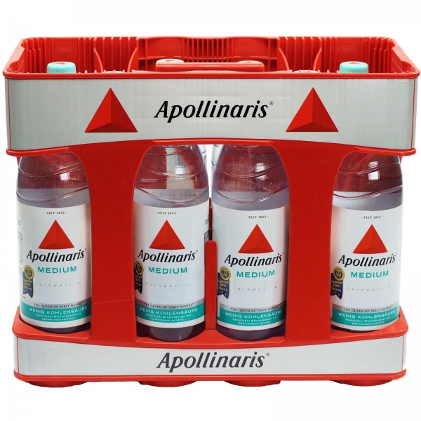 M4200 Apollinaris Medium 10 x 1,0l PET