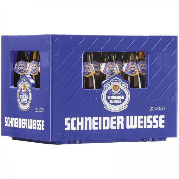 B1412 Schneider Weisse Alkoholfrei TAP3  20x0,50l