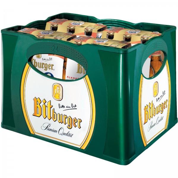 B1332 Bitburger Grapefruit Alkoholfrei 0,33l (4x6er)