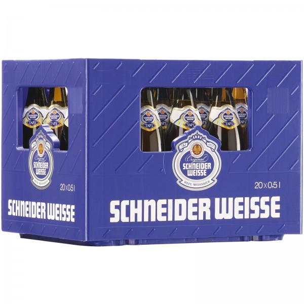 B1406 Schneider helle Weisse TAP 1 20 x 0,50l