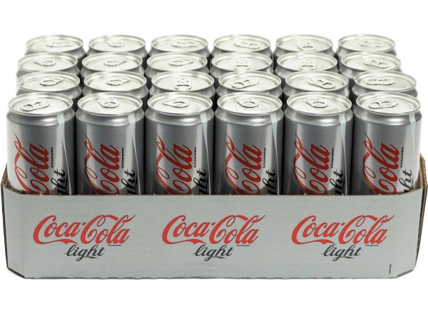 Coca Cola light 24 x 0,33l Dosen