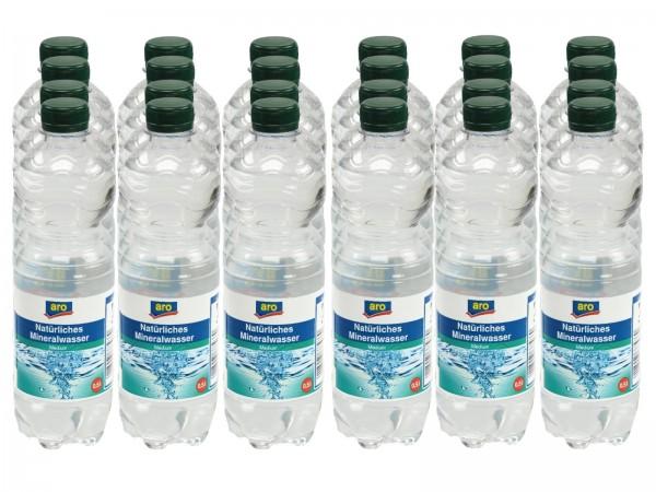 M4202 aro Mineralwasser Medium 24 x 0,50l EW-PET