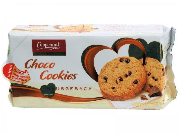 K5590 Coppenrath Choco Cookies 200g