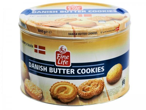 K5650 Fine Life Danish Cookies 1000g