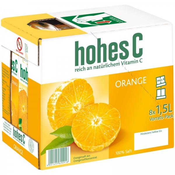 S2607 hohes C Orange 8 x 1,50l Tetra