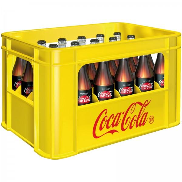 E3157 Coca Cola Zero 24 x 0,33l (Glas)