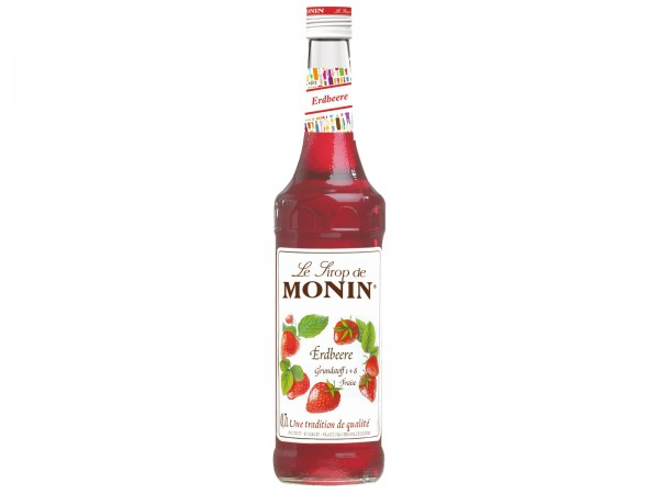 G0540 Monin Sirup  Erdbeere 0,70l