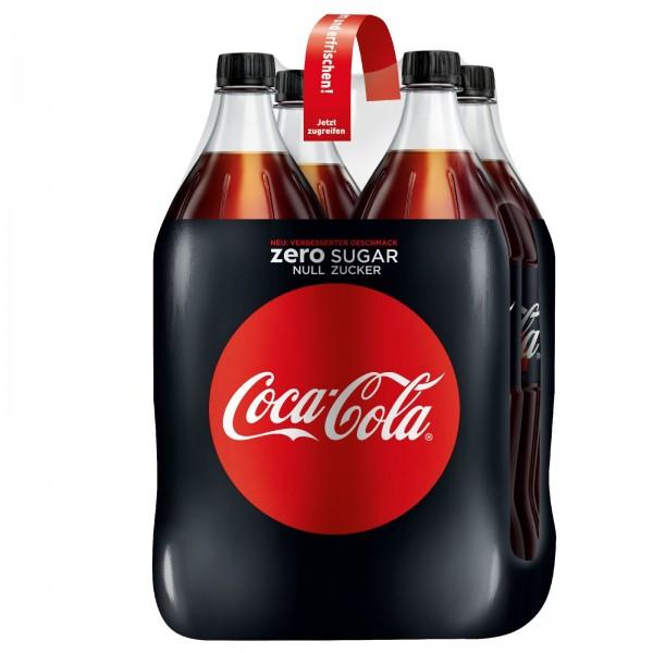 E3006 Coca Cola Zero 4 x 1,50l PET
