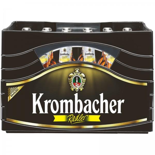B1191 Krombacher Radler 24 x 0,33l