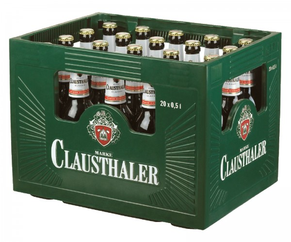 B1335 Clausthaler Classic 20 x 0,50l