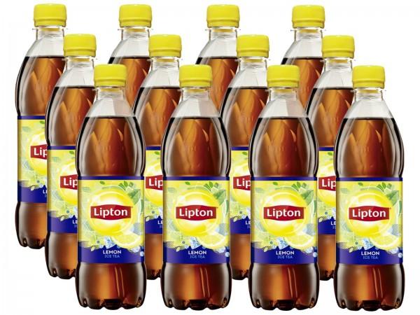 E3495 Lipton Ice Tea Lemon 12 x 0,50l Ew-PET