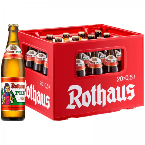 B1212 Rothaus Pils 20 x 0,50l