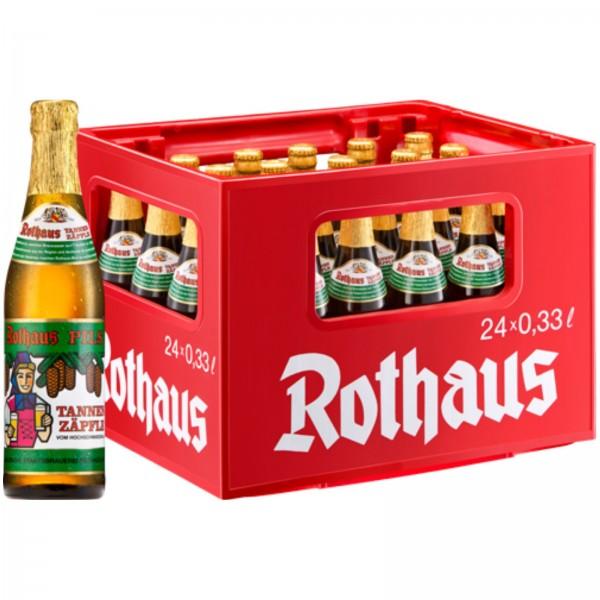 B1214 Rothaus Pils Tannen Zäpfle 24 x 0,33l