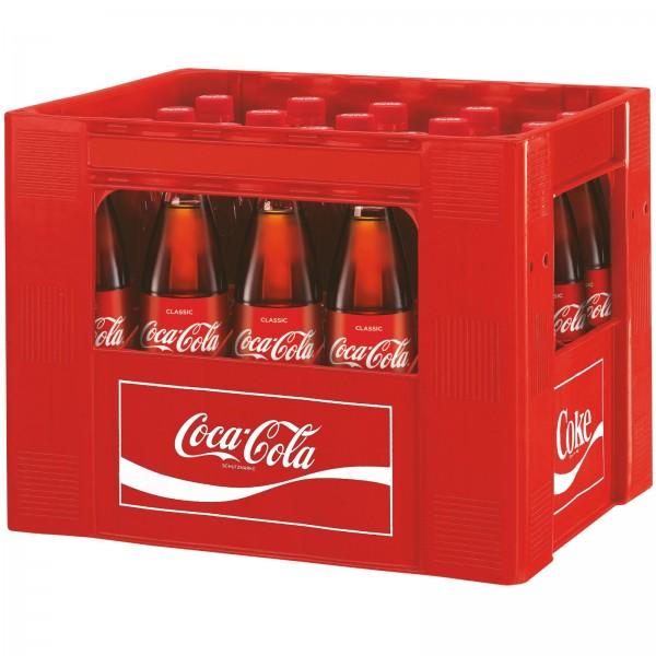 E3145 Coca Cola 20 x 0,50l Glas