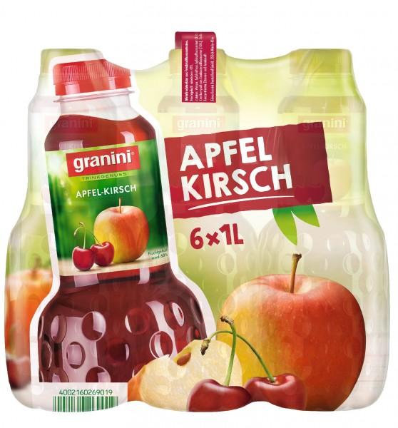 S2465 Granini Apfel-Kirsch 6 x 1,0l