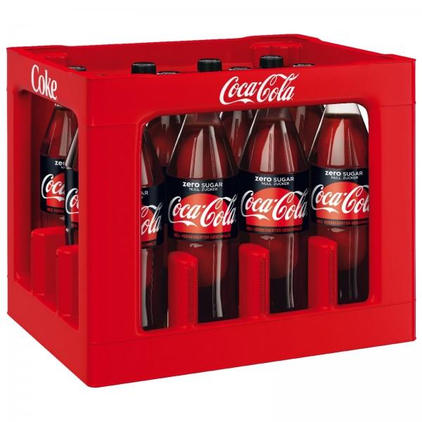 E3076 Coca Cola Zero 12 x 1,0l PET
