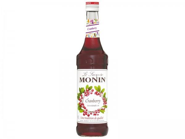 G0530 Monin Sirup Cranberry 0,70l
