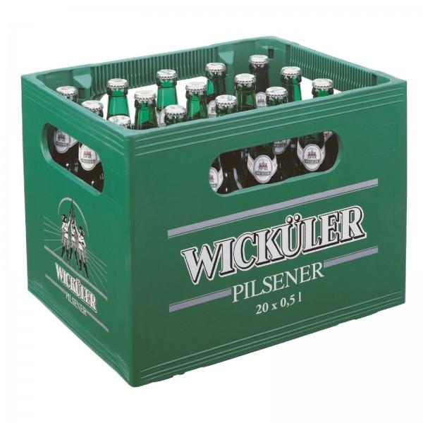 B1278 Wicküler Pilsener 20 x 0,50l