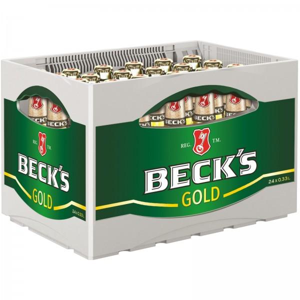 B1001 Beck's Gold 24 x 0,33l