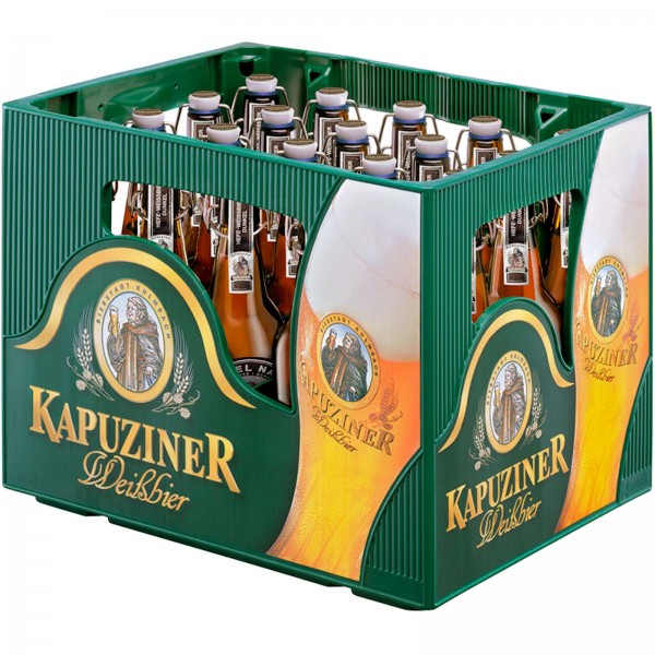 B1385 Kapuziner Hefe Dunkel 20 x 0,50l