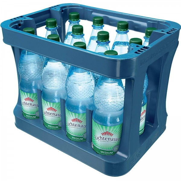 M4172 Lichtenauer Mineralwasser Medium 12 x 1,0l PET