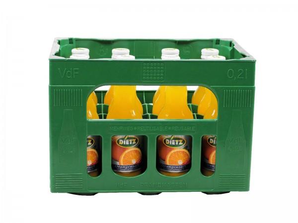 S2814 Dietz Orangensaft 12 x 0,20l