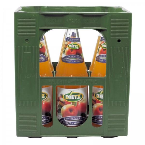 S2336 Dietz Apfelsaft Trüb 6 x 1,0l