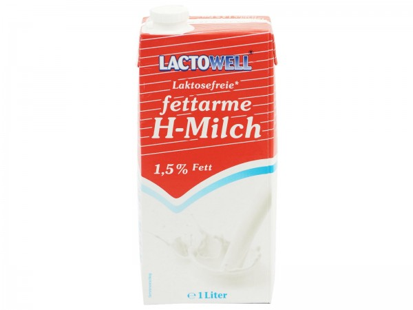 K5004 H - Milch LACTOWELL Lactosefrei 1,5%