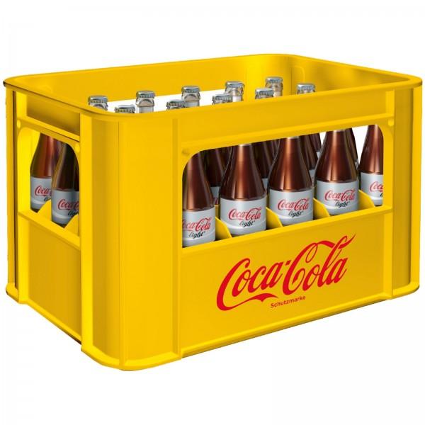 E3175 Coca Cola light 24 x 0,33l (Glas)