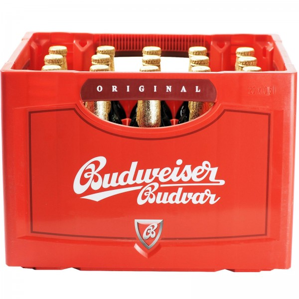 B1092 Budweiser Budvar Original Lager Hell 20 x 0,50l