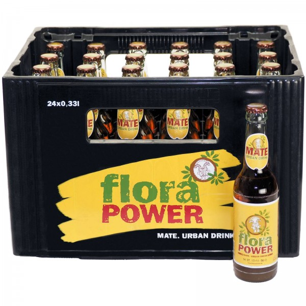 E3442 Flora Power Mate 24 x 0,33l