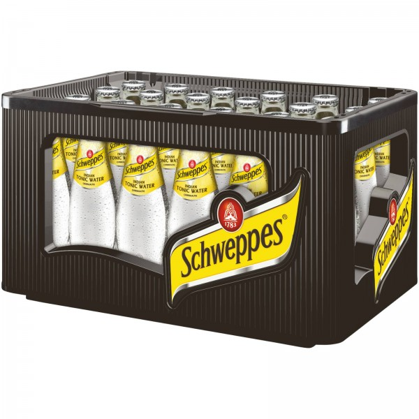 E3435 Schweppes Tonic Water 24 x 0,20l