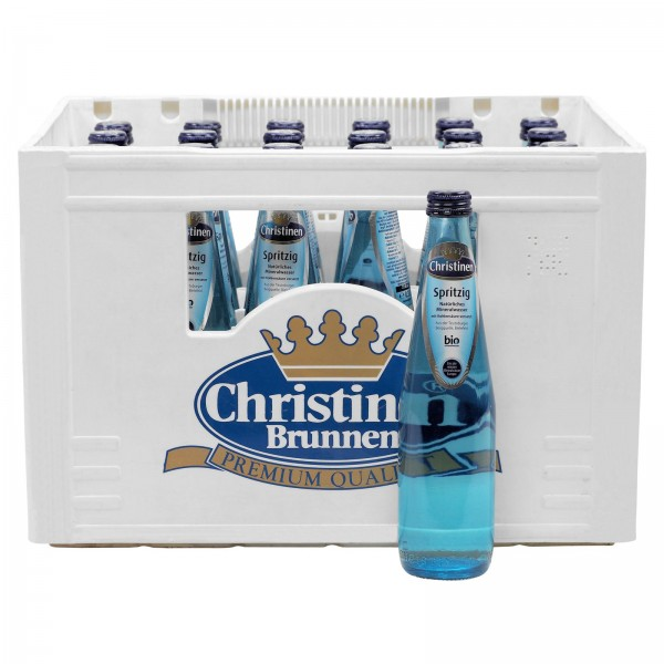 M4048 Christinen Brunnen Spritzig 24 x 0,33l Glas