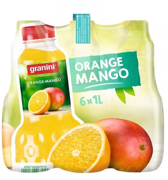 S2476 Granini Orange-Mango 6 x 1,0l